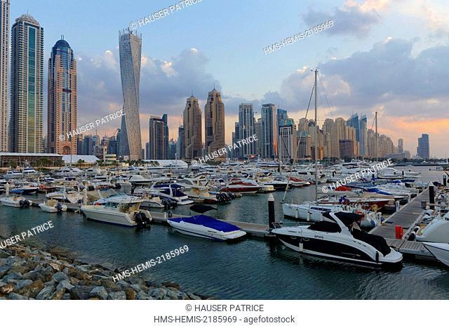 United Arab Emirates, Dubai, Dubai Marina