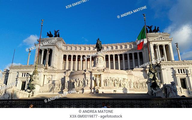 Altare della Patria. Vittoriano monument. Rome, Italy