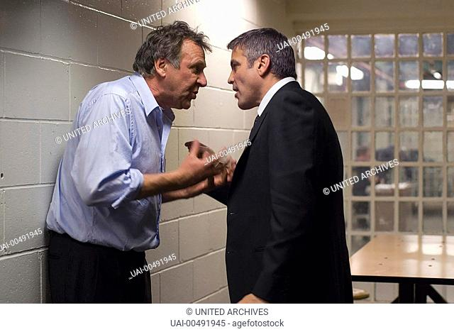 Michael Clayton / Arthur Edens (TOM WILKINSON) and Michael Clayton (GEORGE CLOONEY) Regie: Tony Gilroy aka. Michael Clayton / MICHAEL CLAYTON USA 2007