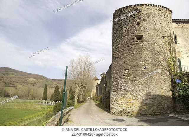 Medieval bastide of Camon South of. France