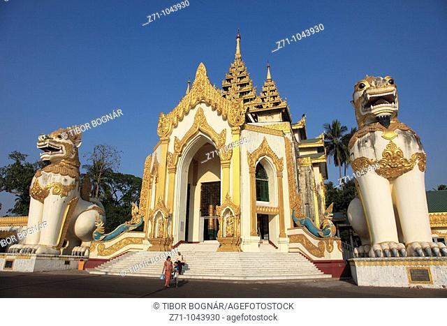 Myanmar, Burma, Yangon, Rangoon, Shwedagon Pagoda