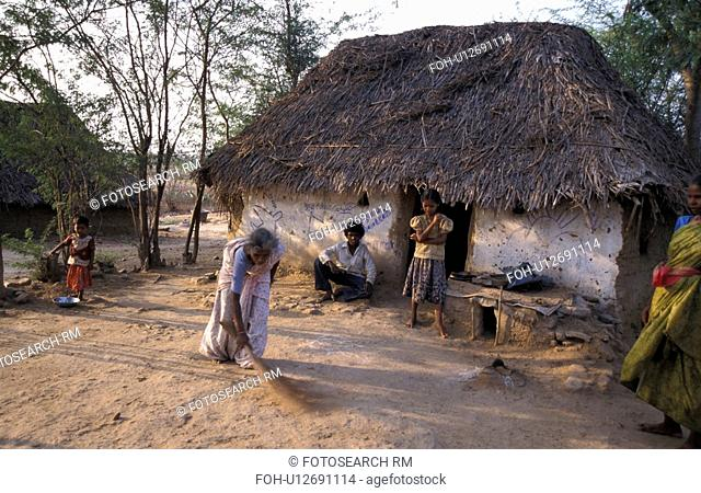 55, house, sarojamma, india, person, people