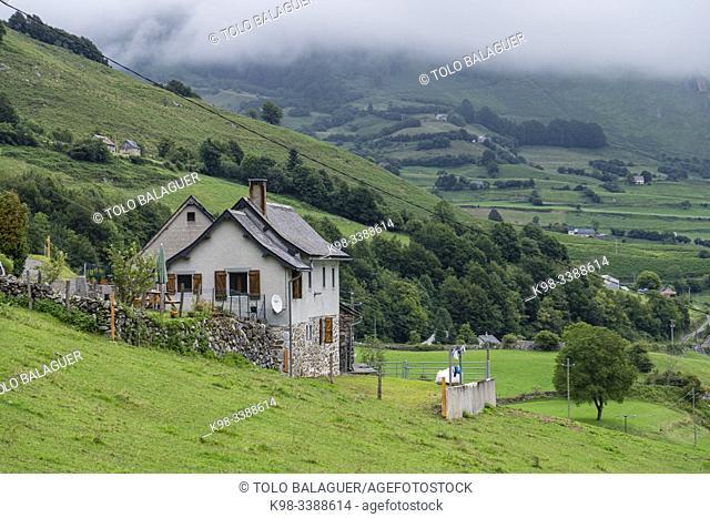 Lescun valley, Aquitaine region, department of Pyrénées-Atlantiques, France