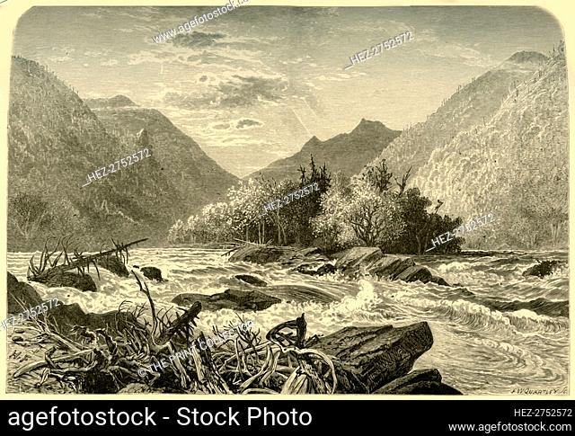 'Mountain Island', 1872. Creator: Frederick William Quartley