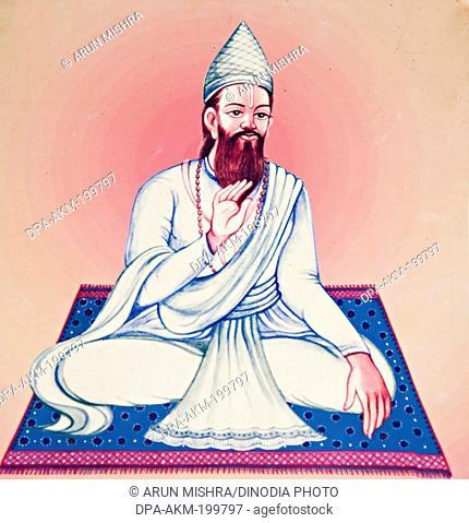 fourteenth acharya shree hari saheb, kabir math, varanasi, uttar pradesh, Asia, India