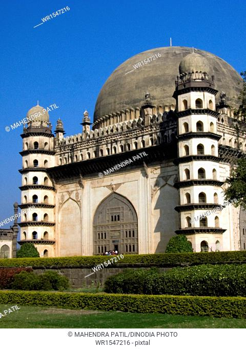 gol gumbaz in bijapur at karnataka India Asia