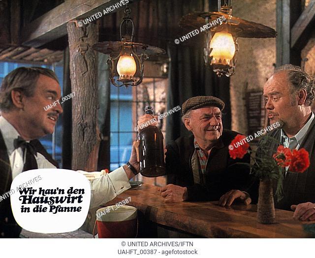 Wir hau'n den Hauswirt in die Pfanne, Deutschland 1971, Regie: Franz Josef Gottlieb, Darsteller: Fritz Tillmann, Henry Vahl