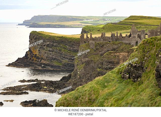 Dunlace Castle, County Antrim, Northern Ireland