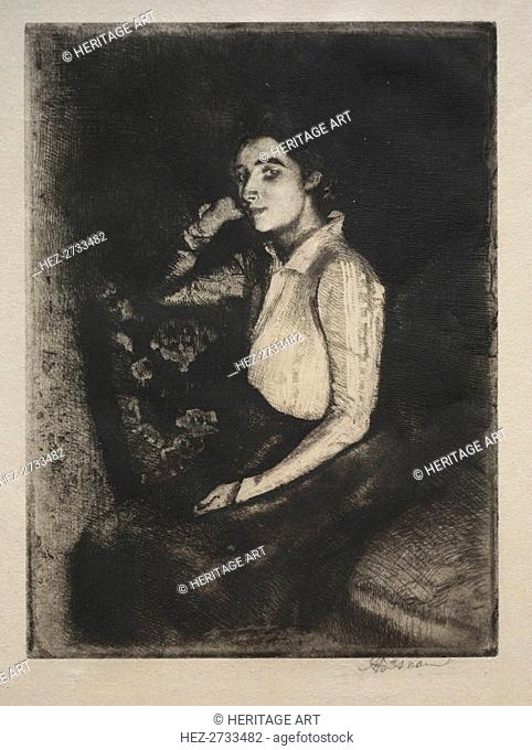 Le Biarotte, 1901. Creator: Albert Besnard (French, 1849-1934)