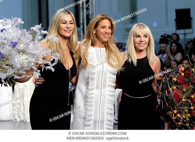 Claudia Villafane attends the Ivana Picallo fashion show during the Madrid Bridal Week 2017 at Palacio de Cibeles Featuring: Claudia Villafane Where: Madrid