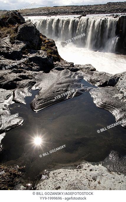 Selfoss Waterfall - Vantnajokull National Park - Northern Iceland
