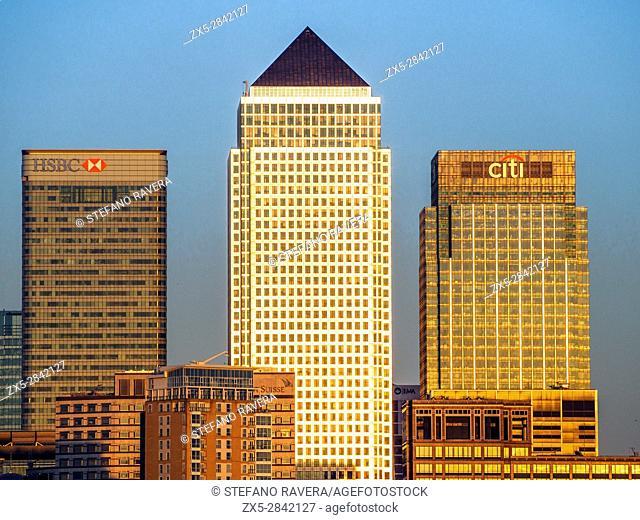 Canary Wharf - London, England