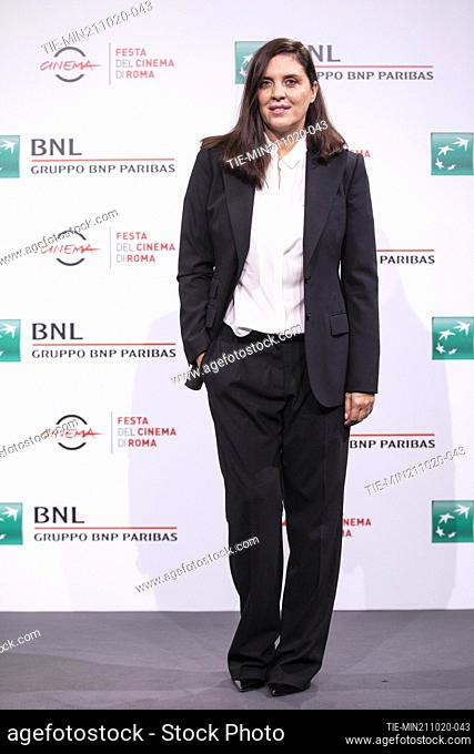 Gisella Marengo during the photocall of movie' Francesco' at the 15th Rome Film Festival, Rome, ITALY-21-10.-2020