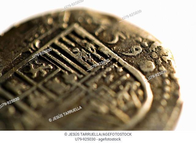 1590 silver coin