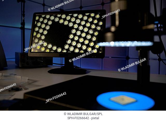 Quality control of semiconductors