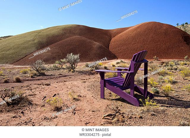 Chair in Desert