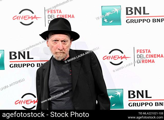Frank Miller during the photocall of film ' Frank Miller - American Genius' at the 16th Rome Film Festival, Rome, ITALY-22-10-2021