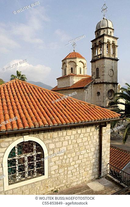 Great Uspenskaya church, Great church of the Assumption , Savina Monastery, near Herceg-Novi, Montenegro