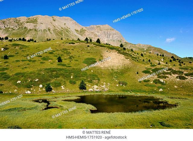 France, Hautes Alpes, Vars Pass