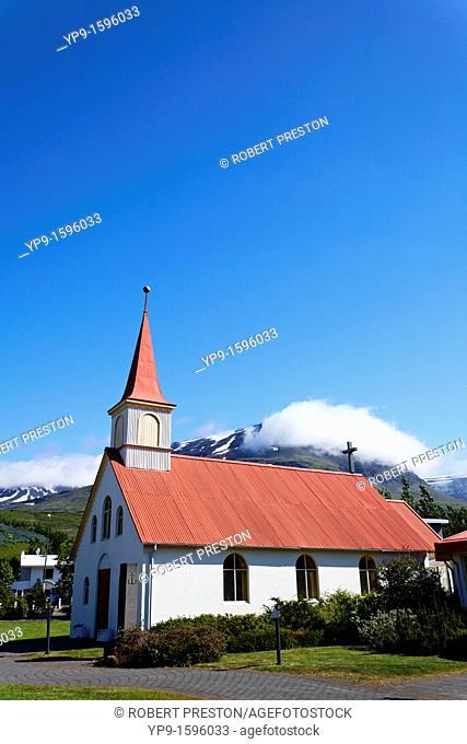 Village church, East Fjiords, Iceland