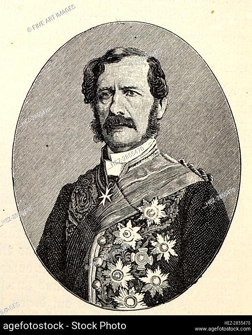 Wilhelm Freiherr von Schleinitz (1794-1856). Creator: Anonymous