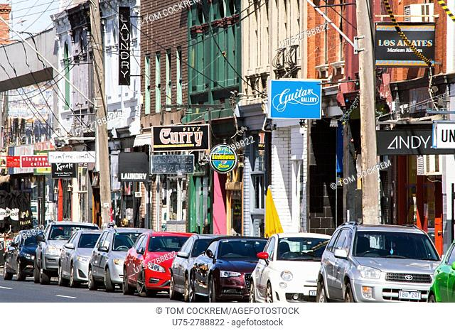 Elgin Street, Fitzroy, Melbourne, Victoria, Australia