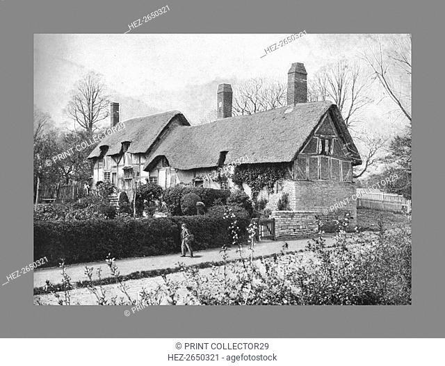 Anne Hathaway's Cottage, c1900. Artist: Harvey Barton