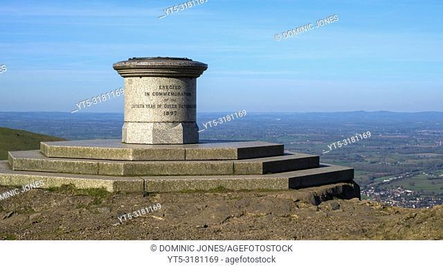 The Malvern Hills, Worcestershire, England, Europe