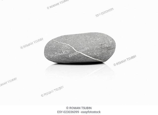 stone over white