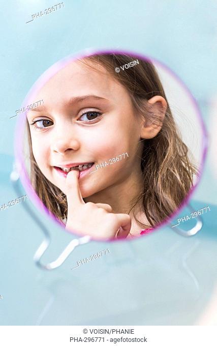 Milkteeth of a 5 year old girl