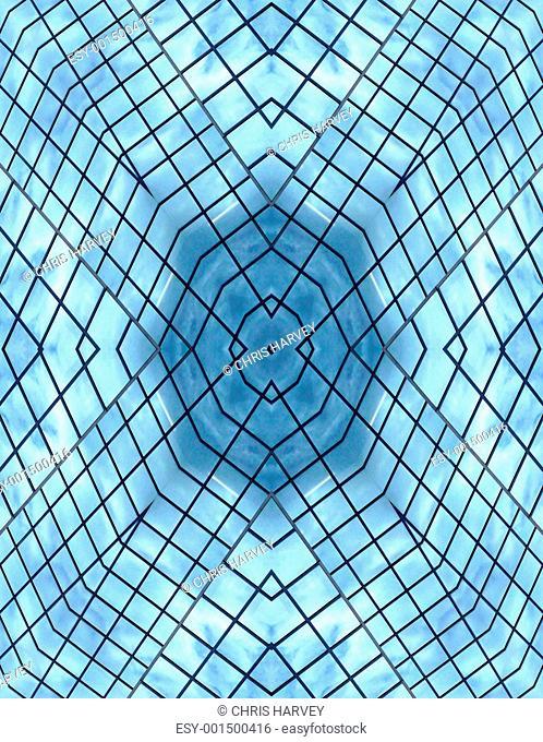 Window Seamless Pattern Background