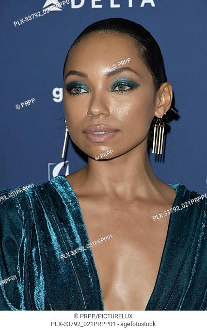 Logan Browning at the 30th Annual GLAAD Media Awards held at the Beverly Hilton Hotel in Beverly Hills, CA on Thursday, March 28, 2019