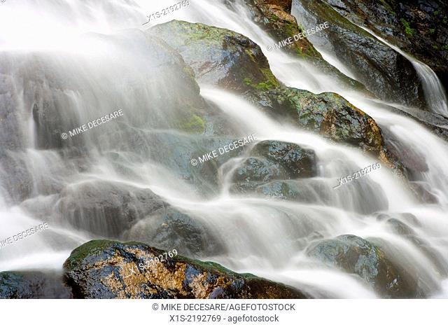 Rocky Brooks Waterfalls, Olympic Peninsula, Pacific Northwest