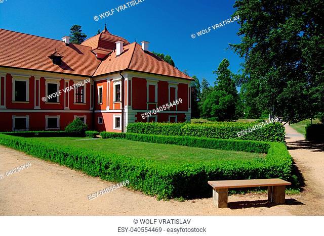 Ostrov Chateau Park, Karlovy Vary District, Karlovy Vary Region, Czech Republic