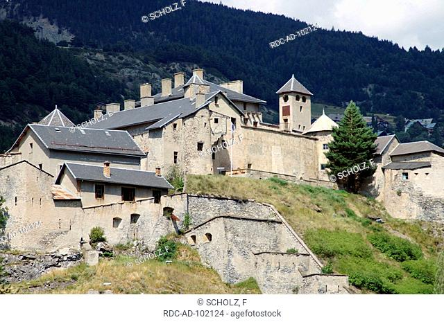 Old Fortress Chateau Queyras Hautes-Alpes France
