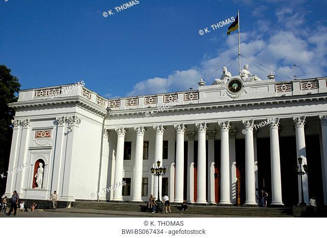 Odessa, city hall, Ukraine, Southern Ukraine, Odessa