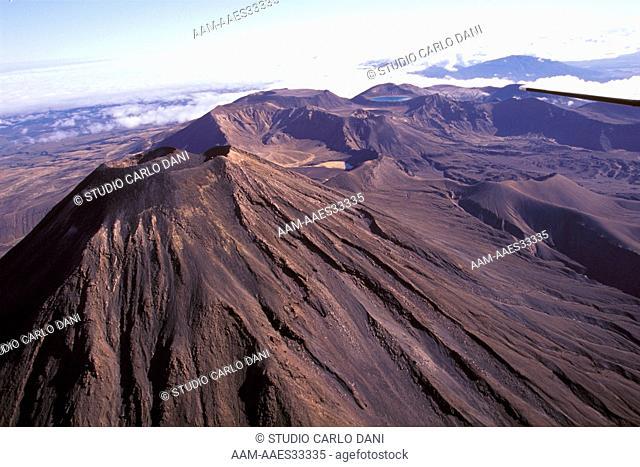 Mt. Ngauruhoe (2291M), Tongariro Np, N.I., New Zealand