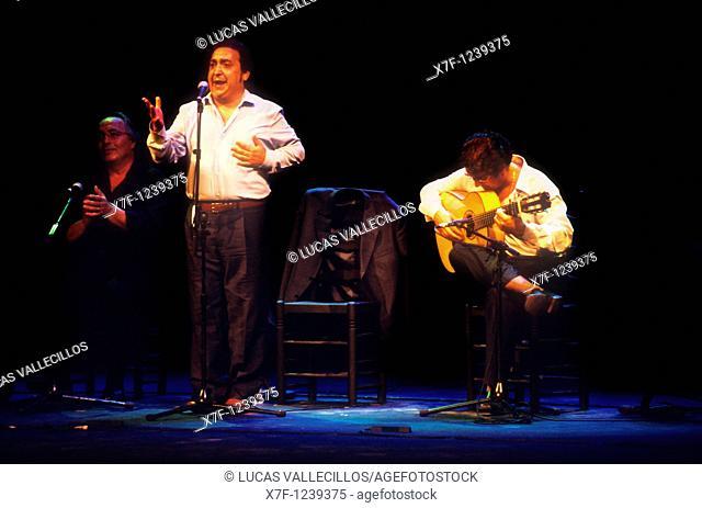 Terremoto son Flamenco Singer  Lope de Vega theatre  Seville, Andalusia, Spain