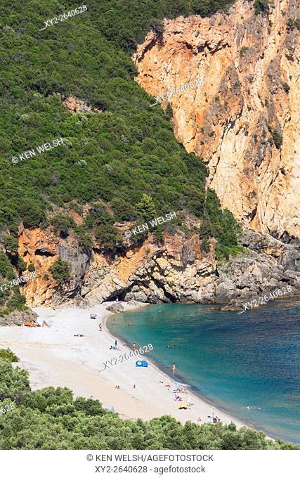Lichnos Bay near Parga, Epirus, Greece