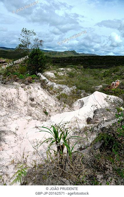 Deactivated area of garment transformed into the Living Museum of Garimpo, whose region was occupied by garimpeiros in the 19th century in Chapada Diamantina