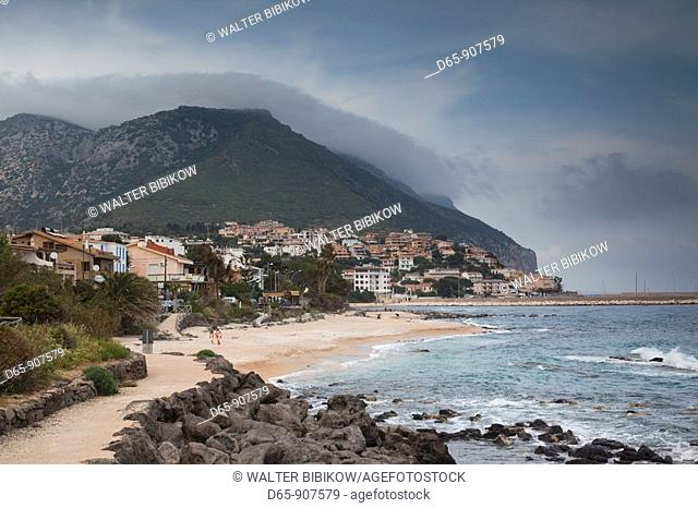 Italy, Sardinia, Eastern Sardinia, Golfo di Orosei gulf, Cala Gonone, coastline