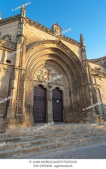 Church of San Pablo. Ubeda. Jaen. Andalucia. Spain