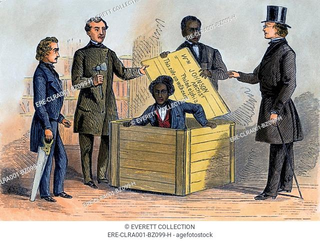 Henry Brown endured a twenty-six hours bent over in a 3' x 3' x 2' crate shipped by overland express from Richmond Virginia to Philadelphia in July 1856