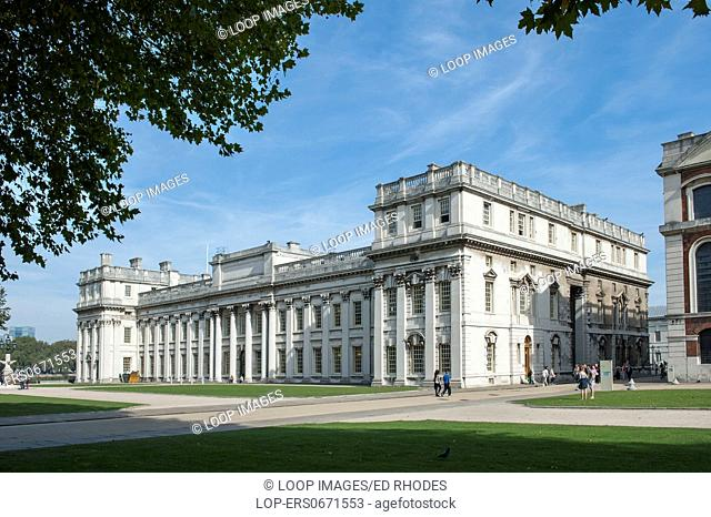 National Maritime museum at Greenwich Park