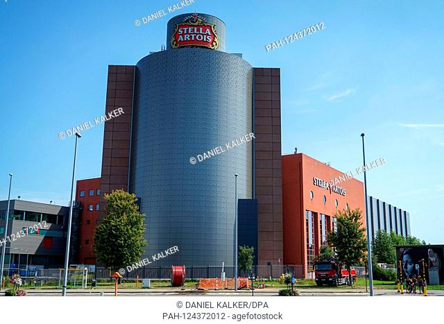 Belgium: Headquaters of Stella Artois, a brand of Anheuser-Busch InBev, in Leuven..Photo from August 25th, 2019 | usage worldwide