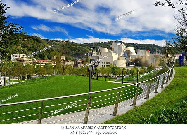 Guggenheim museum, Bilbao, Biscay, Basque Country, Spain
