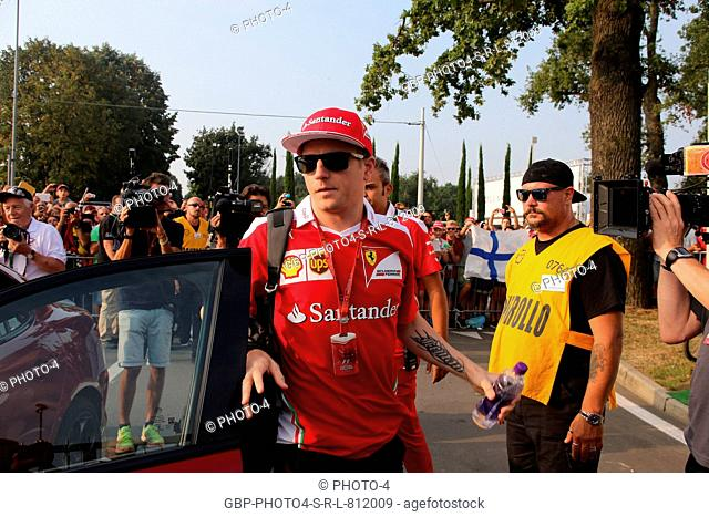 02.09.2016 - Kimi Raikkonen (FIN) Scuderia Ferrari SF16-H