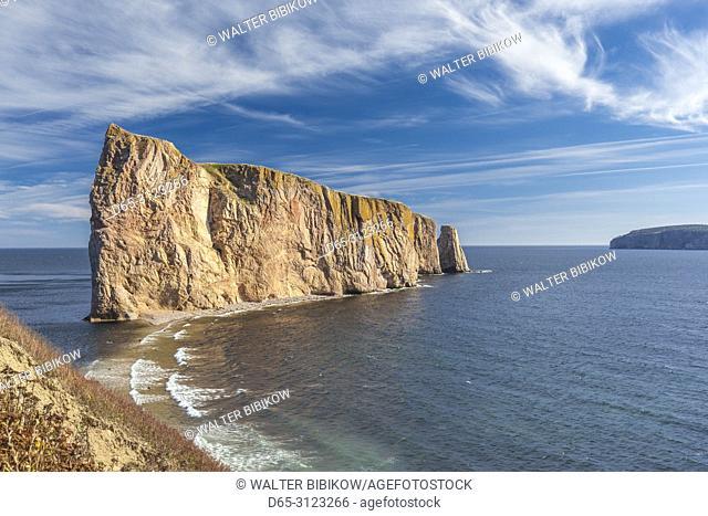 Canada, Quebec, Gaspe Peninsula, Perce, Perce Rock