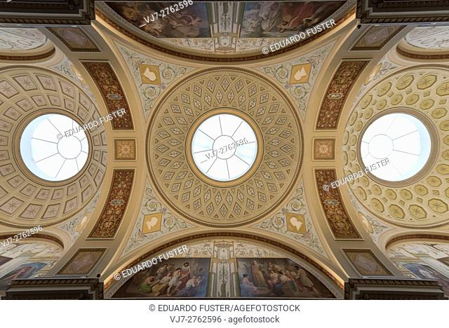 Ceiling in the Hermitage (St Petersburg, Russia)