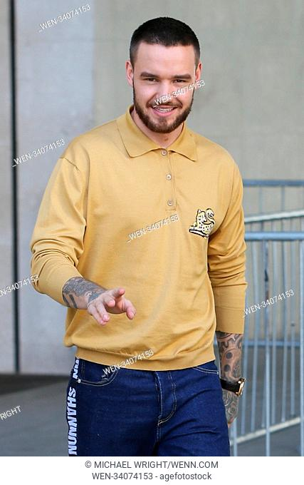 Liam Payne seen leaving Radio 1 Featuring: Liam Payne Where: London, United Kingdom When: 18 Apr 2018 Credit: Michael Wright/WENN.com